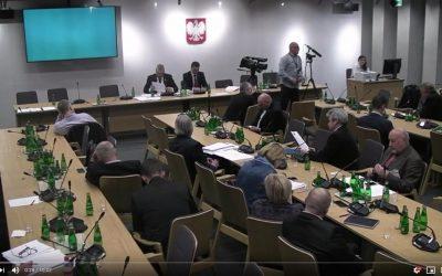 Sorbent ER1 w Sejmie! Zaciekawił polityków